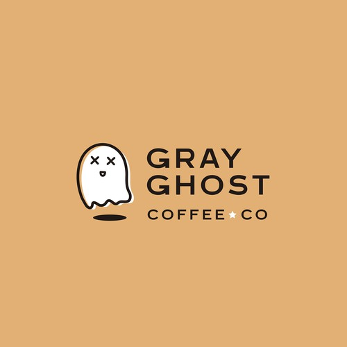Logo proposal for Gray Ghost Coffee Co