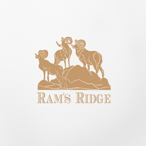logo for a boutique winery in California