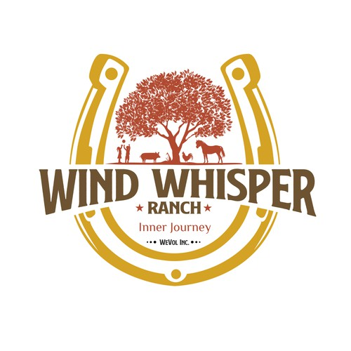 Wind Whisper Ranch Logo