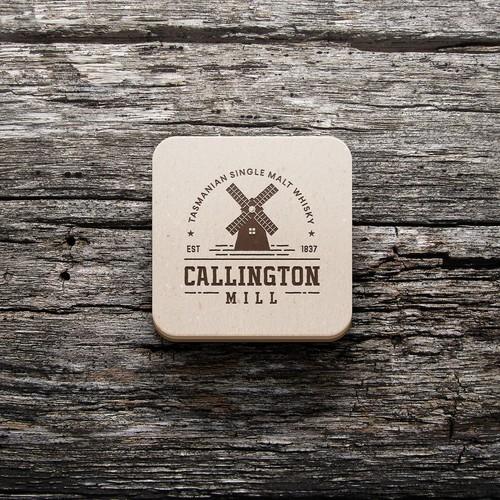 Logo design for Callington Mill