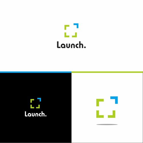 Logo concept for Launch