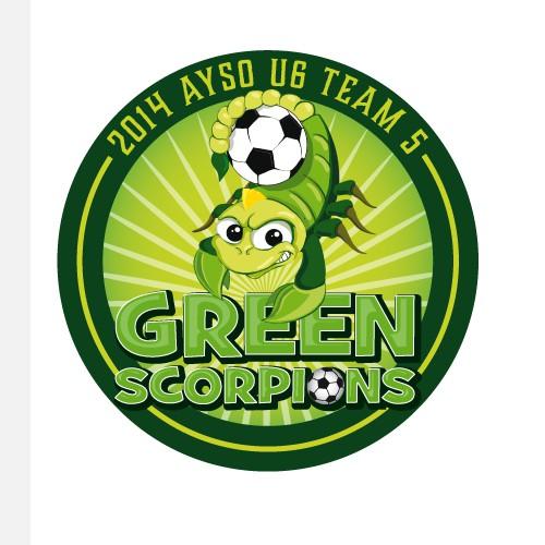 Boy Soccer Team Logo