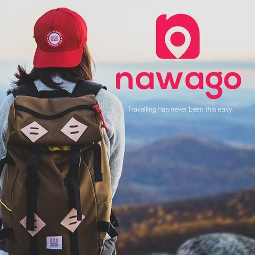 Nawago Logo Concept Branding