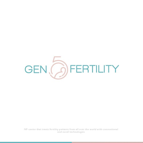 Logo design for a fertility center