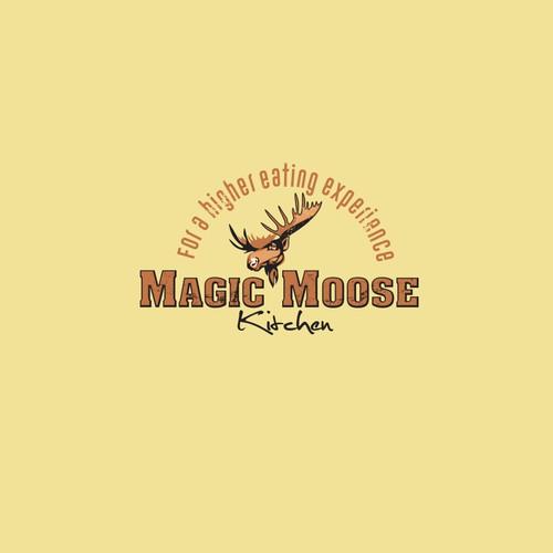 Logo concept for Magic Moose