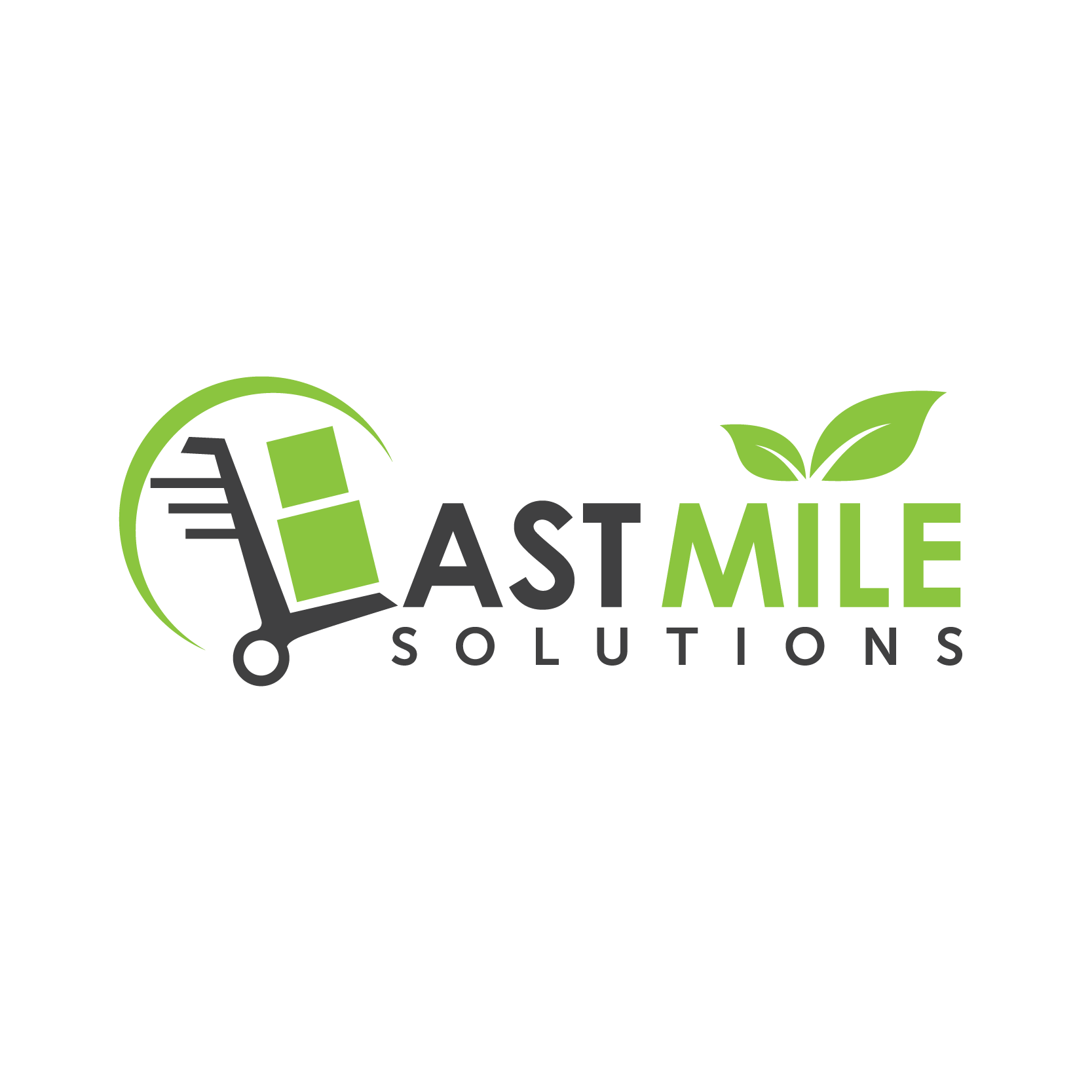 Create a logo for a new business venture delivering parcels