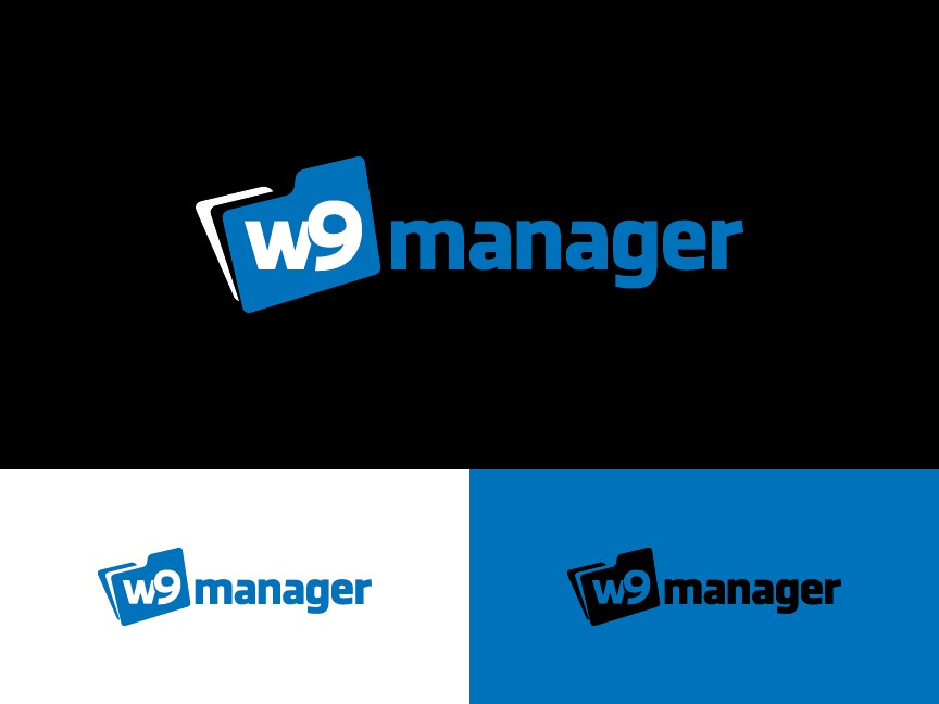 Create the next logo for w9manager