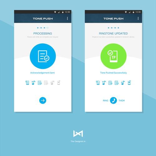 App design for TonePush