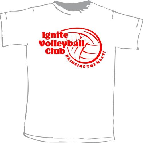 Ignite Volleyball Club alt shirt