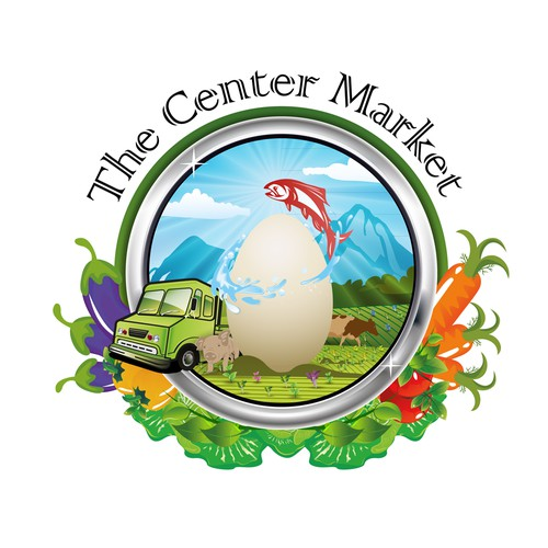 Feature your art on The Center Market logo, Anchorage's only year round farmer's market