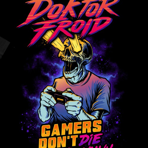 T-shirt for Doktor Froid