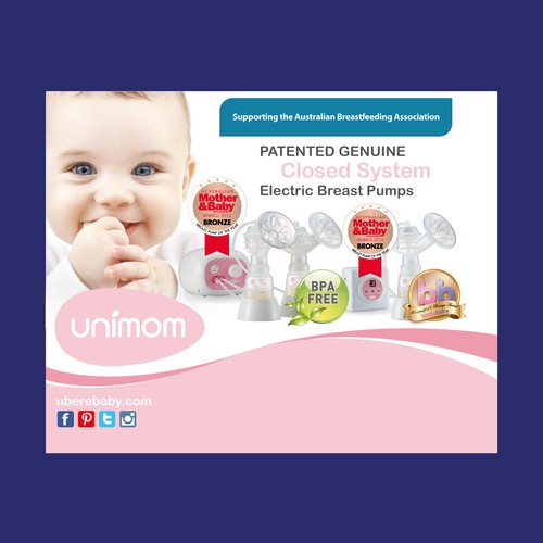 Fabric Banner for Baby Expo