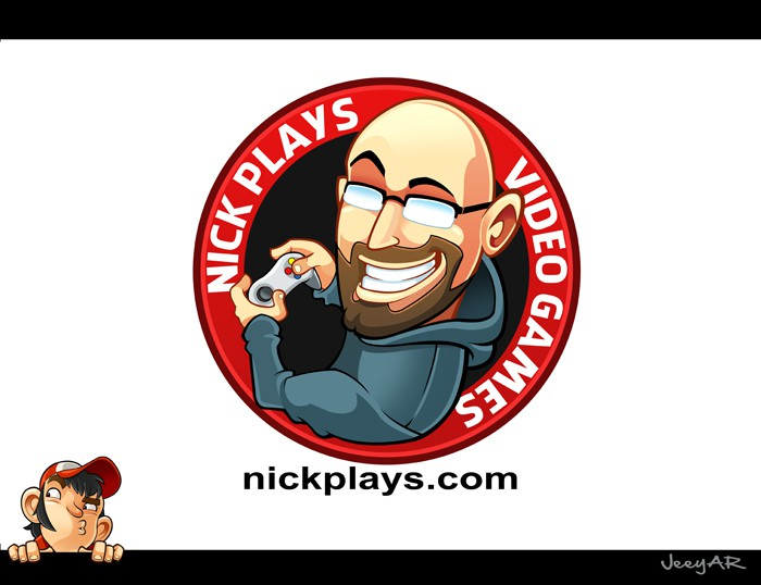 Logo for Nick Plays Video Games