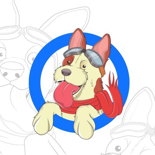 dog logo mascot