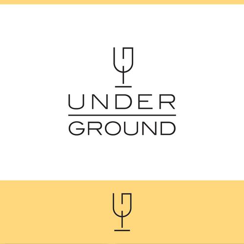 Wine and restaurant logo