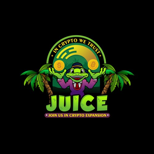Logo Concept For Juice Crypto Expansion