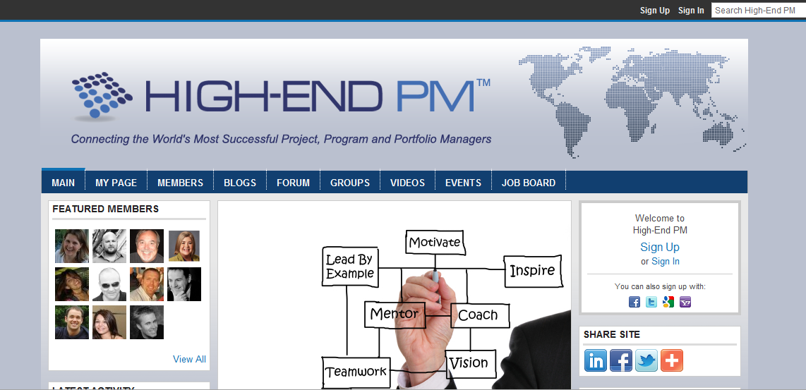 Create the next banner ad for High-End PM