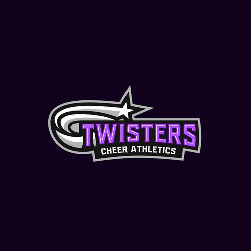 The logo for a cheer leading team