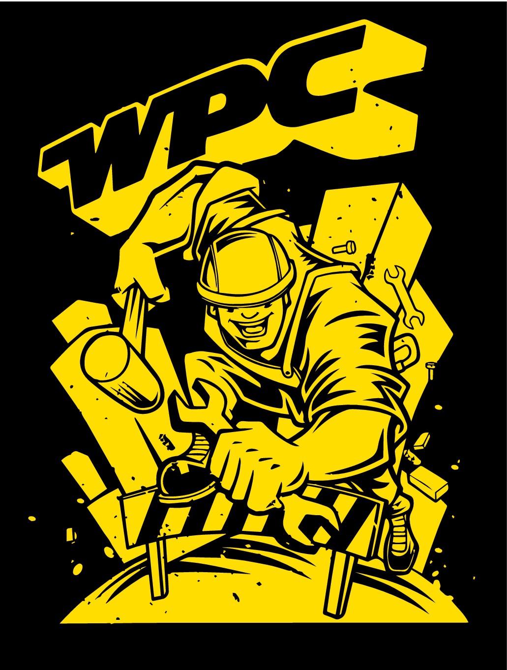 WPC Corporate Run Shirt Design