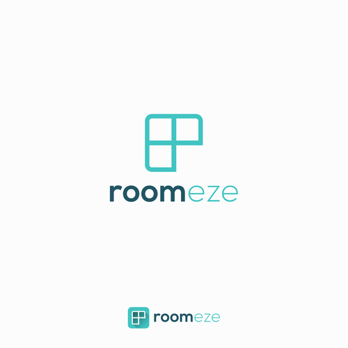 Logo design for roomeze