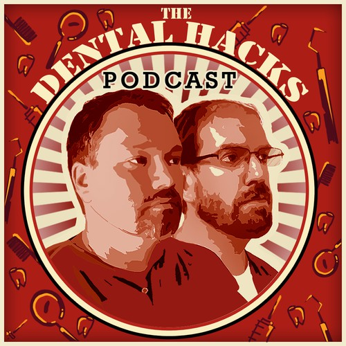 The Cover art for the Dental Hacks podcast!