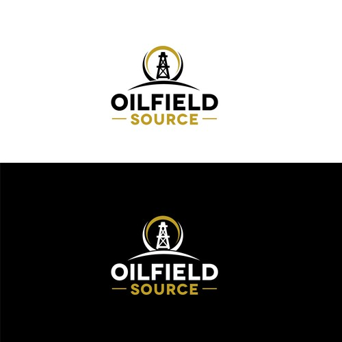 Logo concept for oilfield