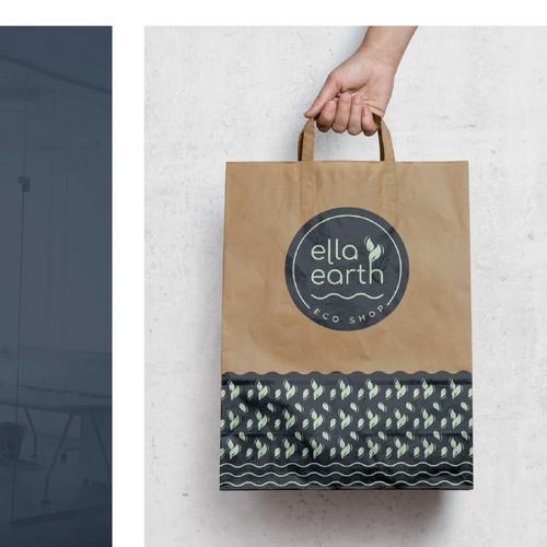 Eco Shop Branding - Ella Earth