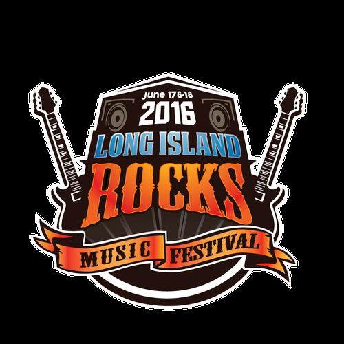 rock music logo