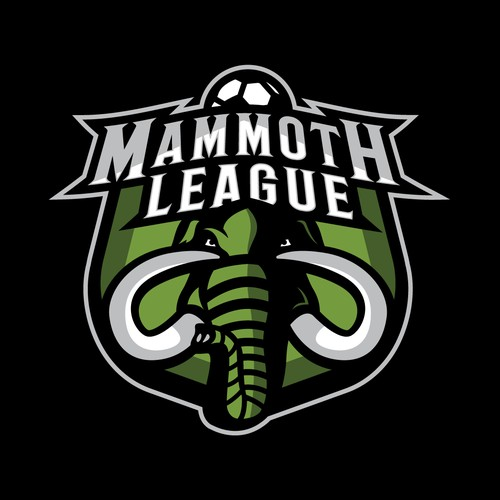 Mammoth League Fantasy Football Logo