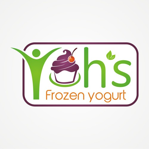 logo for Yoh's Frozen Yogurt
