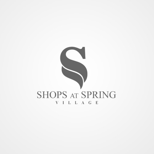Logo for a shopping center
