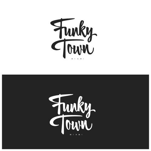 Funjky Town logo