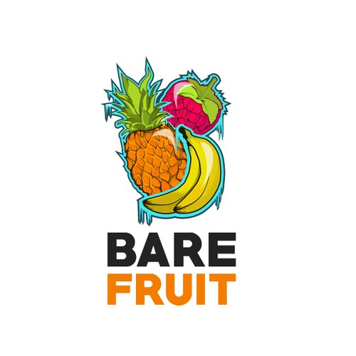 Logo for frozen fruit company