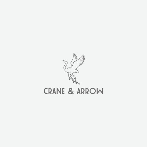 Logo concept for Crane & Arrow