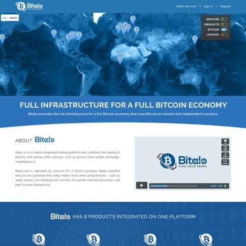 Bitalo Landing page
