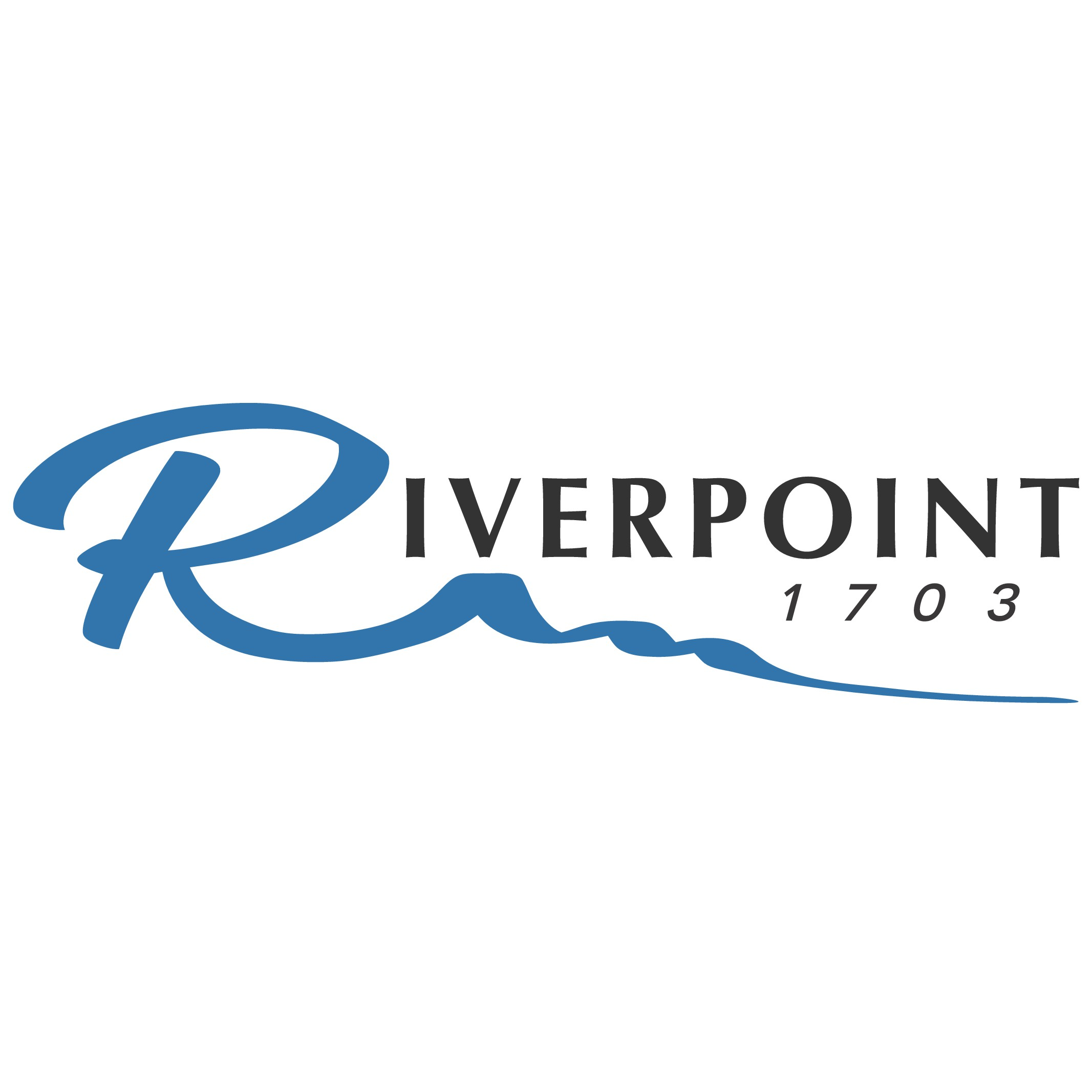 Create an earthy standout logo for our riverfront function room