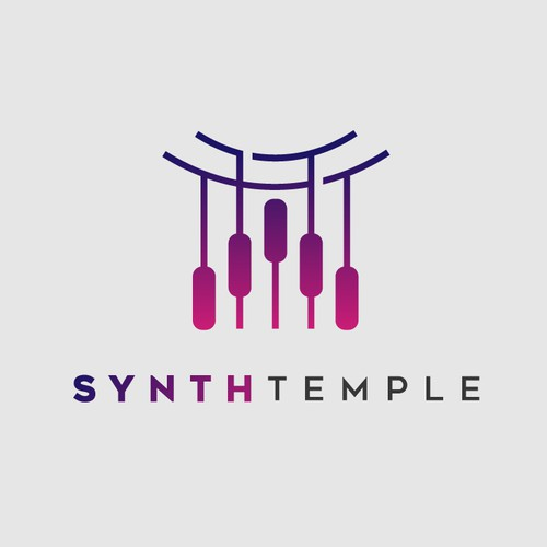 Logo for a Music Studio