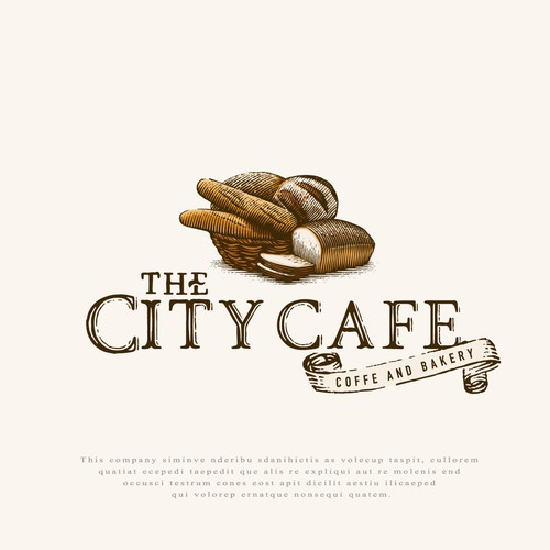 Logo for The City Cafe.