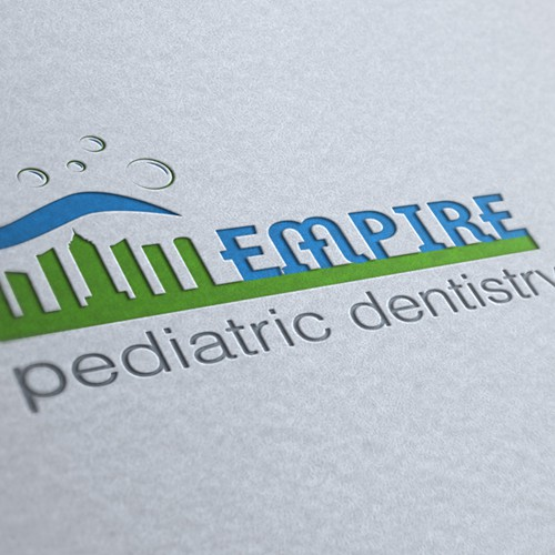 Create a logo for modern Pediatric Dental office in NYC