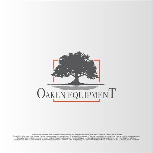 Concept Logo for Oaken Equipment