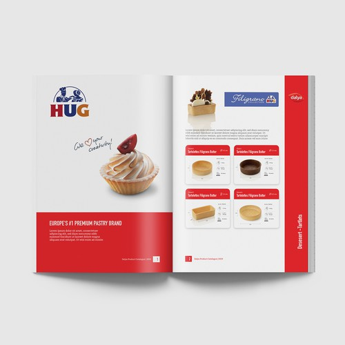Catering Services Booklet Design