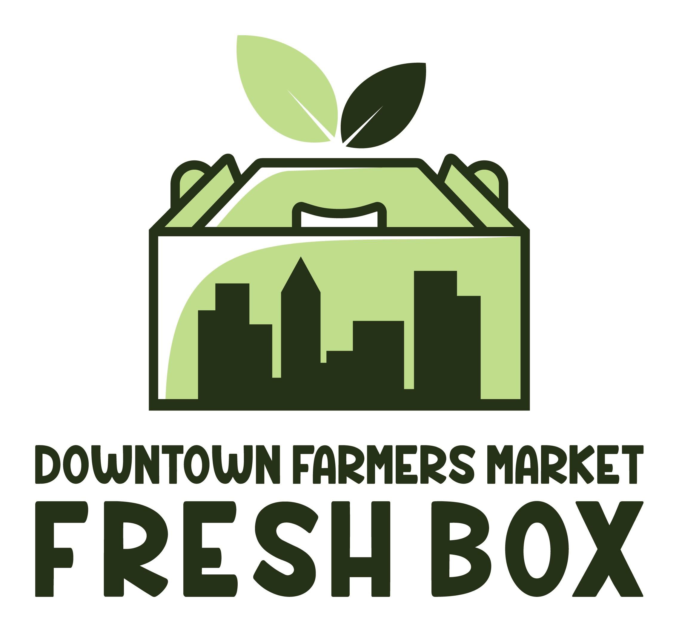 The Downtown Market Fresh Box needs a fun, fresh logo!