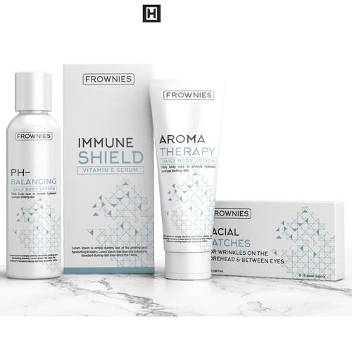 modern cosmetic packaging design