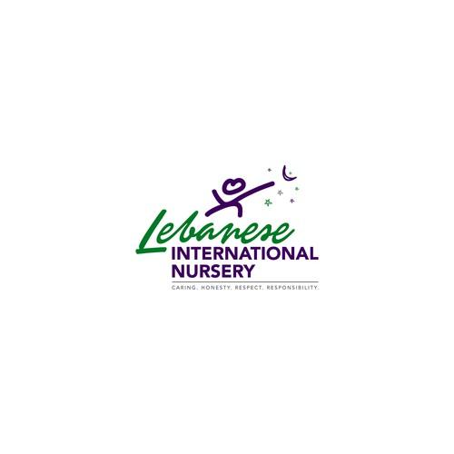 Logo for Lebanese international nursery
