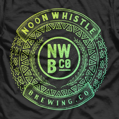 Noon whistle Brewing co T shirt