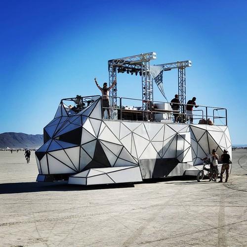 Huggzilla artcar Vehicle