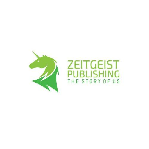 Unicorn Logo For Zeitgeist Publishing
