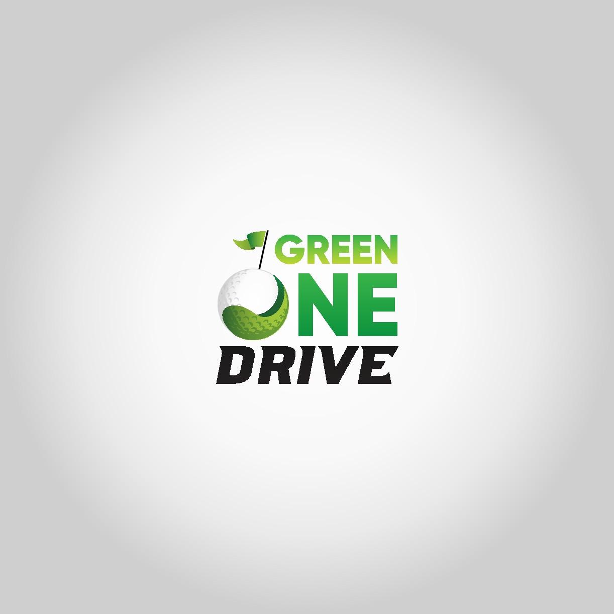 Green one drive logo