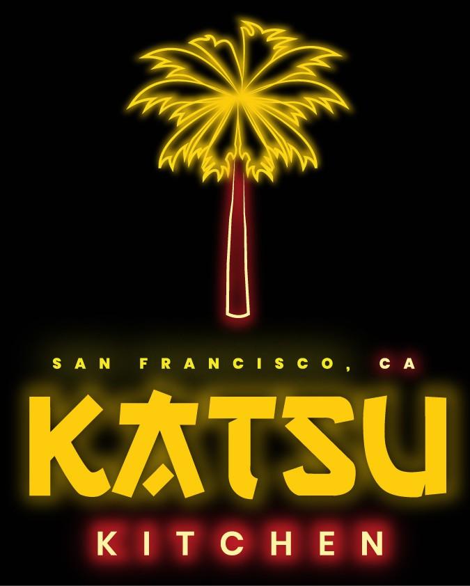 Design an 80's style logo for Katsu Kitchen