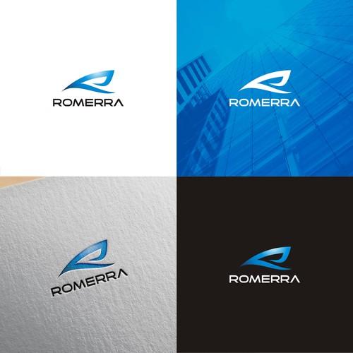 letter R logo concept